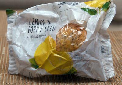 Lemon & Poppy Seed Flavoured Muffin - Produit