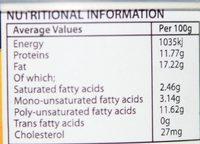Chicken Liver Peri-Peri Paté - Nutrition facts - en