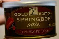 Paté de springbok - Product - en