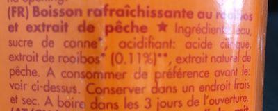 BOS ice rooibos peach - Ingrédients - fr