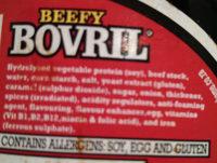 Beefy Bovril - Ingredients - en