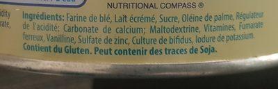 Cerelac - Ingredientes - en