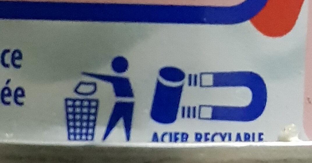 Lait concentré non sucré - Istruzioni per il riciclaggio e/o informazioni sull'imballaggio - fr