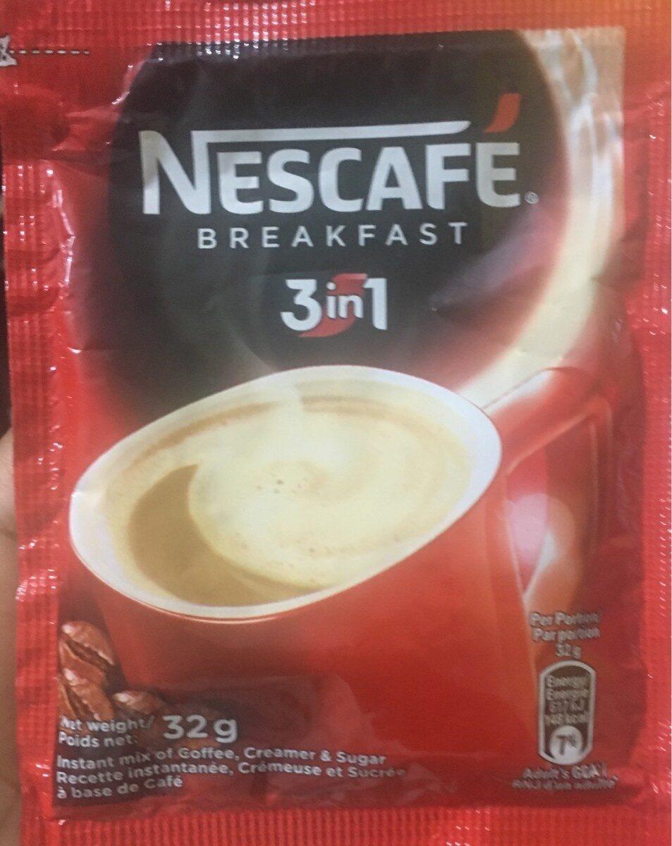 Nescafe Breakfast 3in1 32G - Product - fr