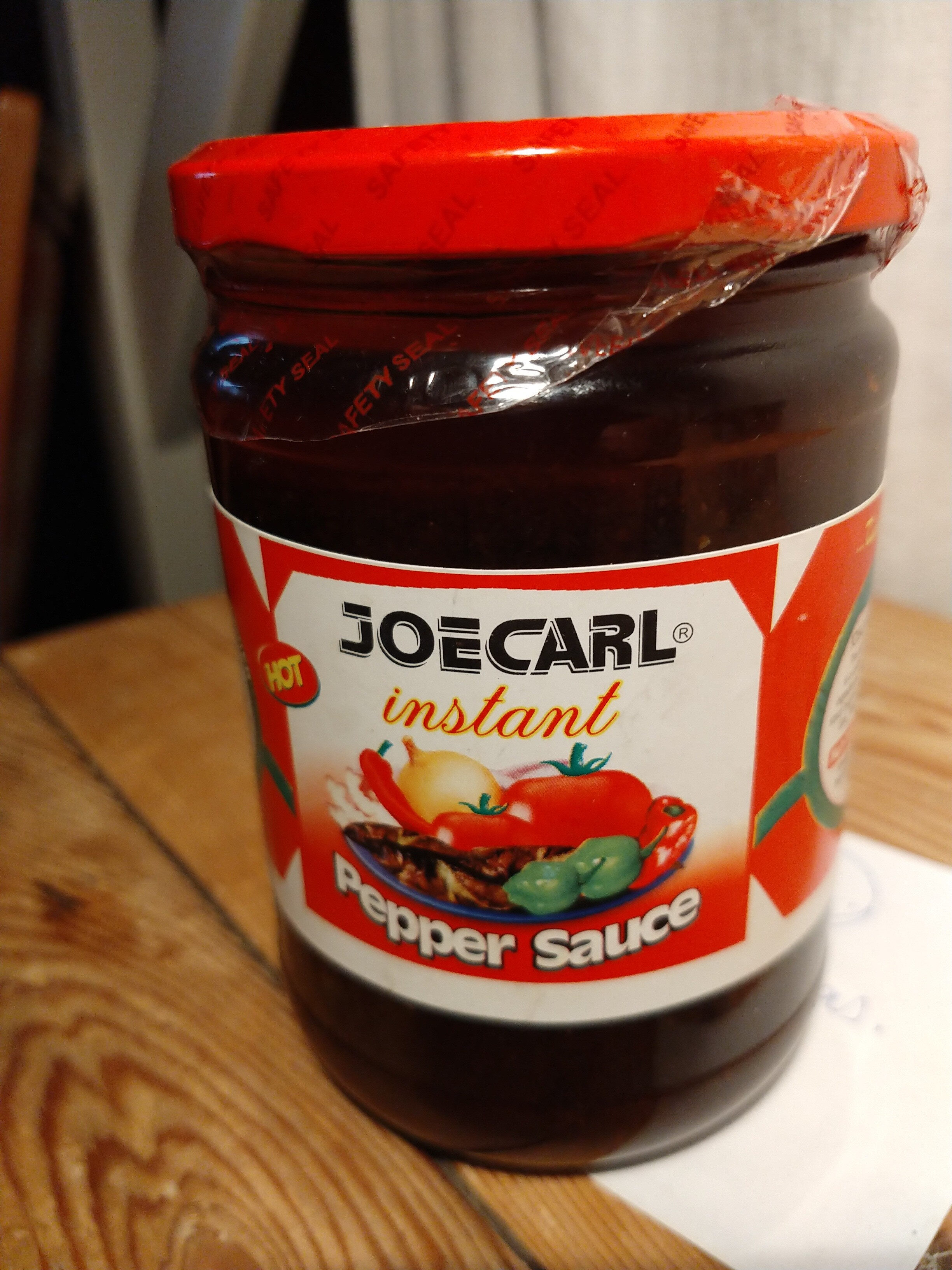 Joecarl instant pepper sauce - Produit - en