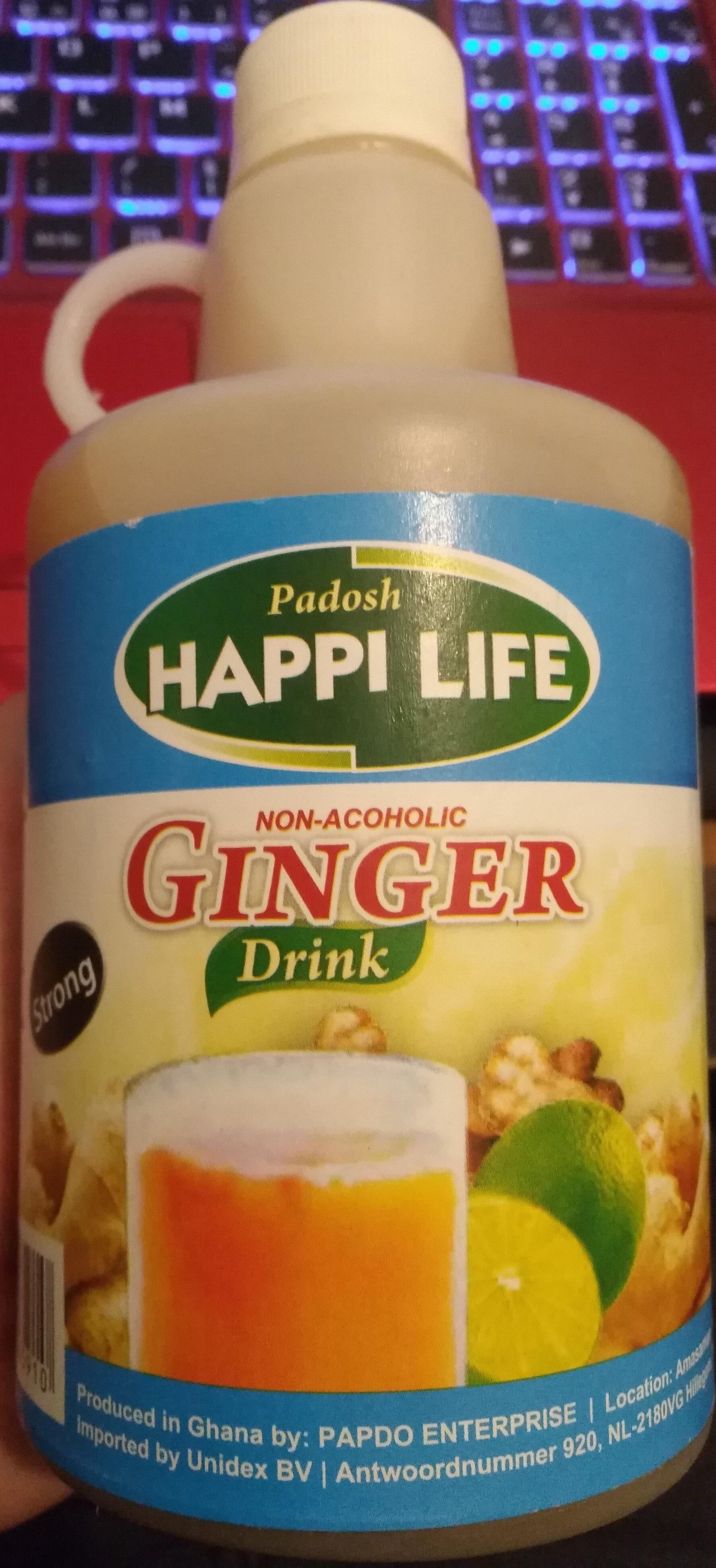 Non-alcoholic ginger drink - Produit - fr