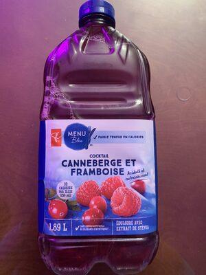 Canneberge et framboise - Produit - fr