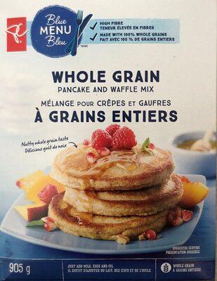 Whole Grain Pancake and Waffle Mix - Produit - en