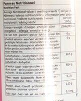 sirop bissap - Voedingswaarden - de