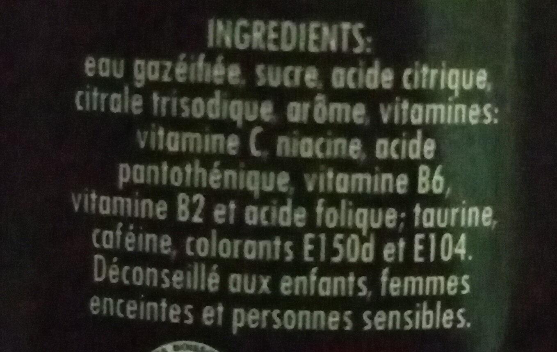 Black Power - Ingredients - fr