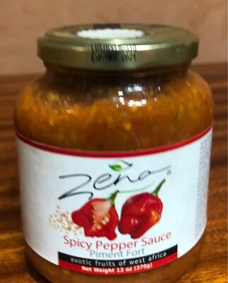 Spicy Pepper Sauce. PIMENT FORT - Product - fr