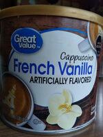 cappuccino french vanilla - Produit - en