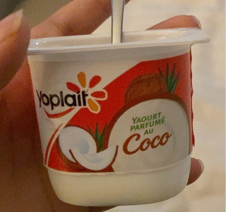 Yaourt parfumé au coco - Product - fr