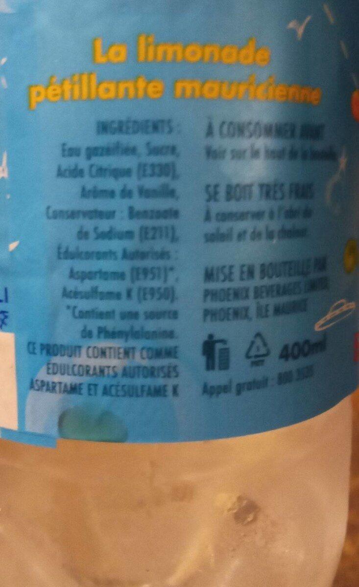 Eski vanille - Nutrition facts - en