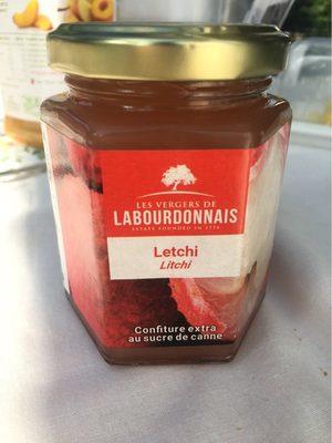 Confiture Litchi - Product - fr