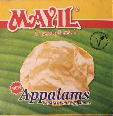 Mayil Appalams - Product