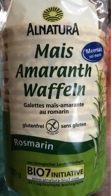 Mais Amaranth Waffeln - Product
