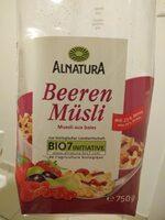 Muesli aux baies (Alnatura) - Product - fr