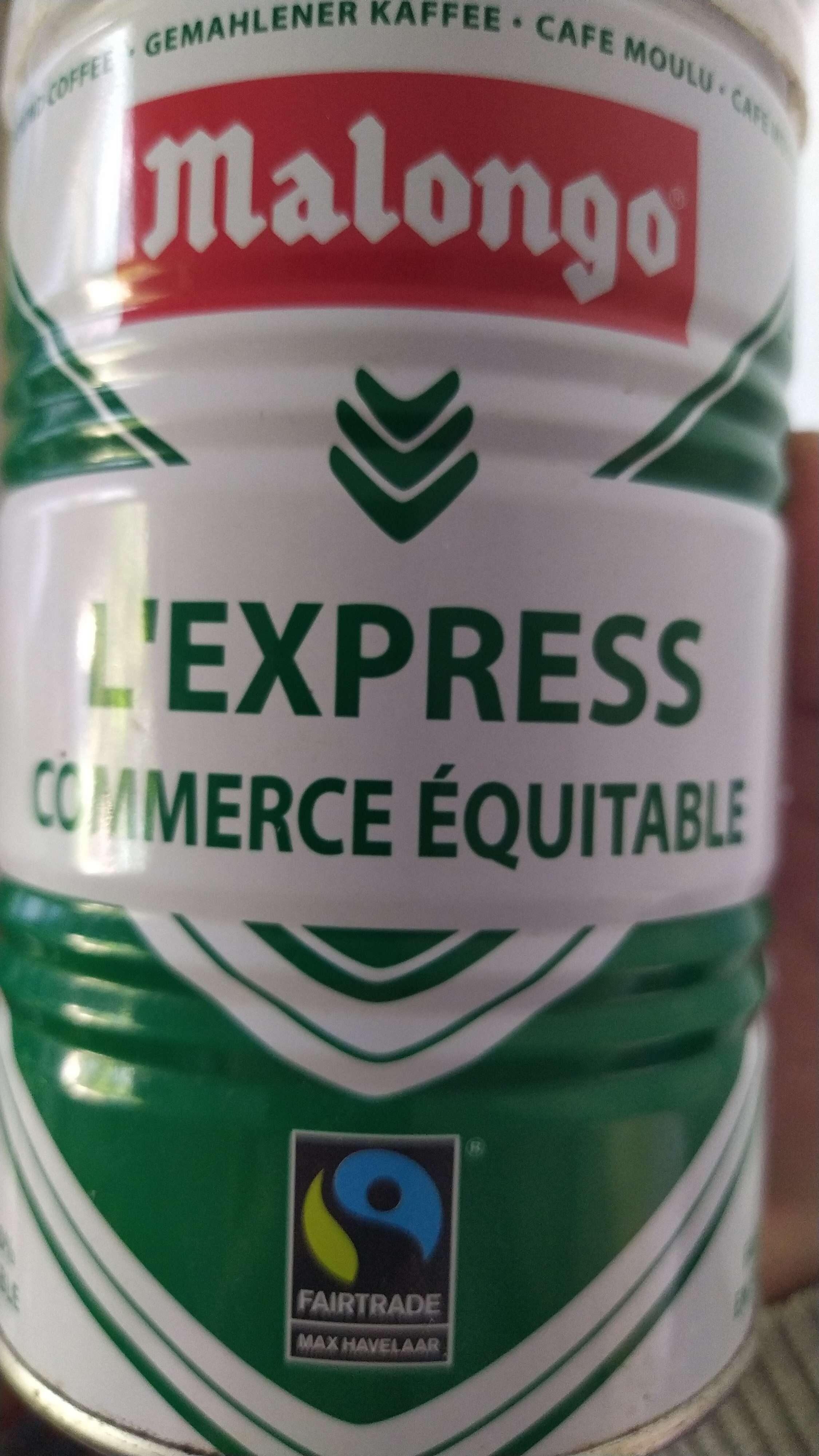 L'EXPRESS - COMMERCE ÉQUITABLE - Prodotto - en