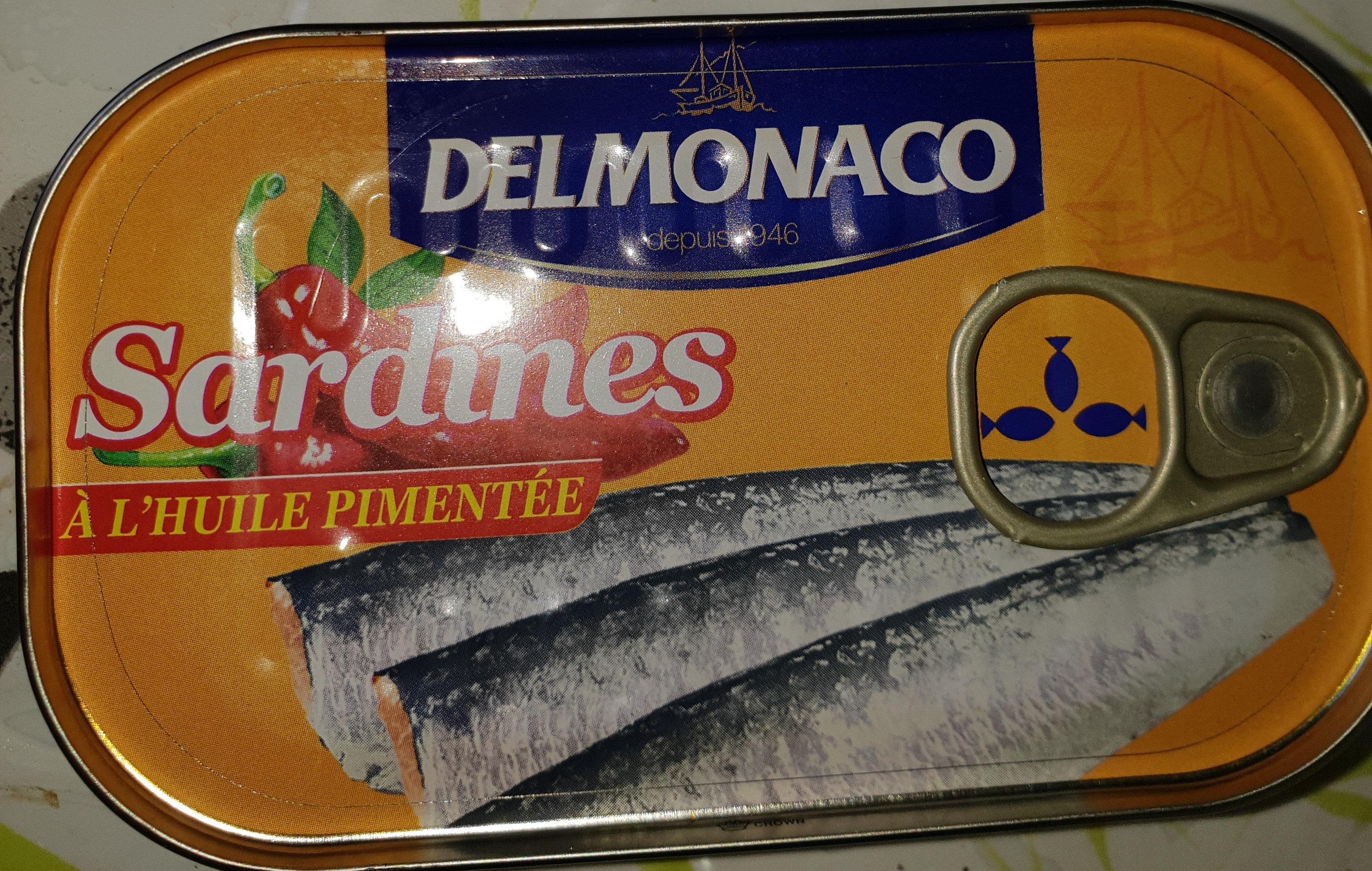 Sardines à l'huiles pimentée - Prodotto - fr