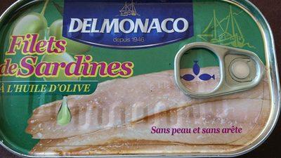 Filets de Sardines à l'huile d'olive - Produit