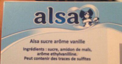 Alsa Vanilla Sugar 70G - Ingrediënten