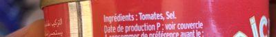 Aicha - Ingredients