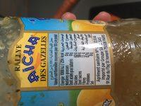 Confiture de citrons - Ingredients