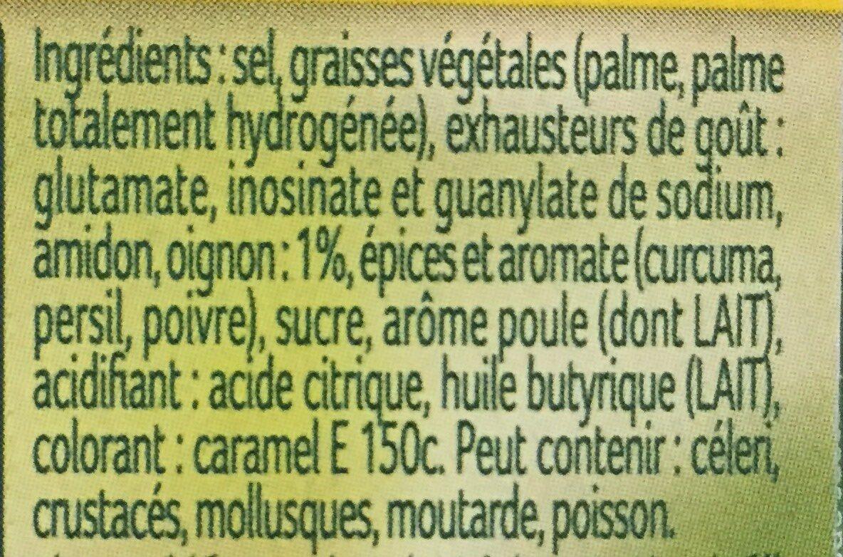 Knorr Chicken Bouillon Stock Cubes 8S - Ingrediënten - fr
