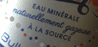 Oulmès eau minerale naturellement gazeuse - Ingrédients - fr