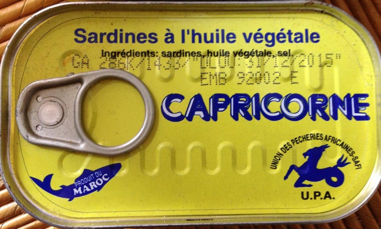 Sardines à l huile végétale - Produit