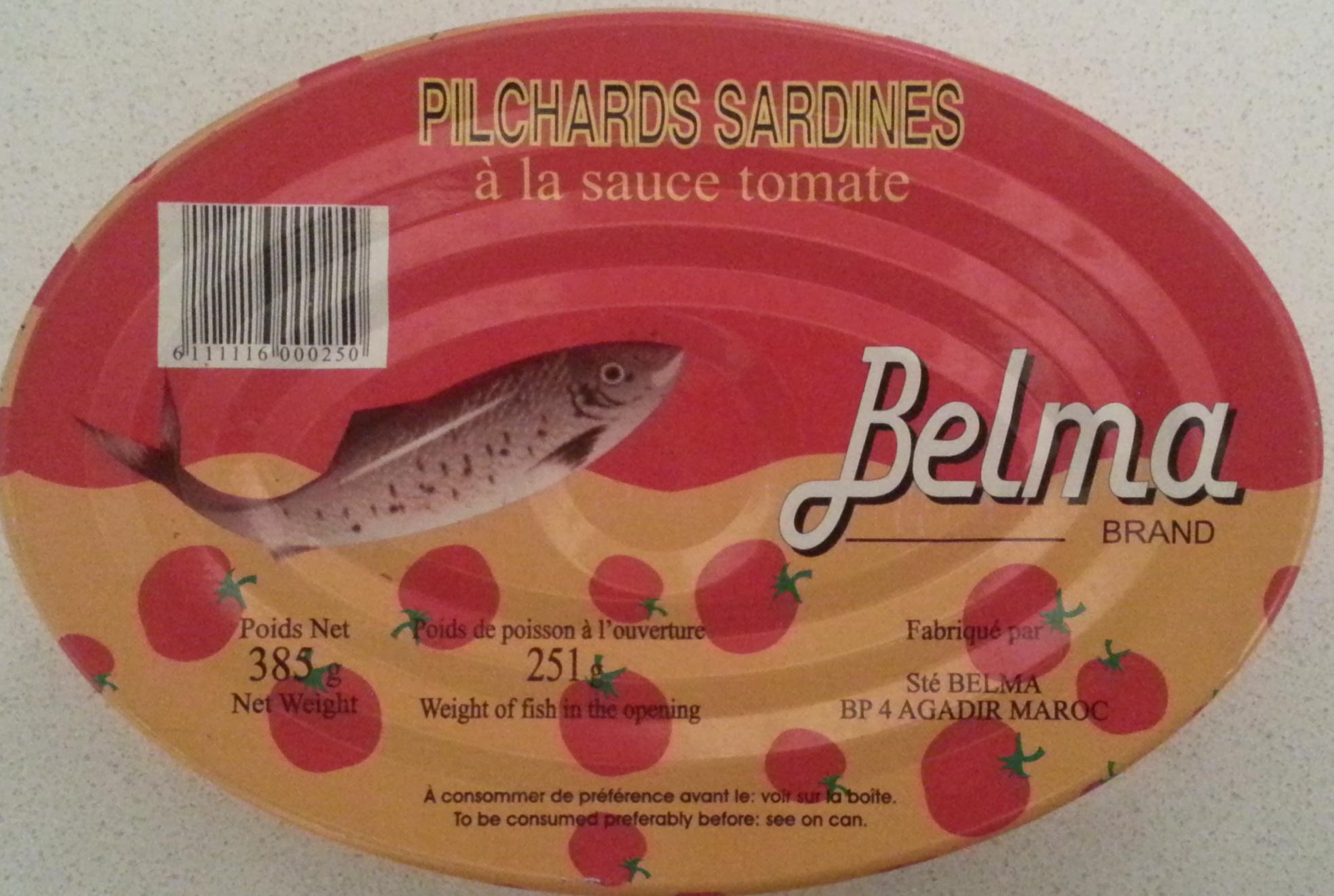 Pilchards sardines à la sauce tomate - Produit - fr