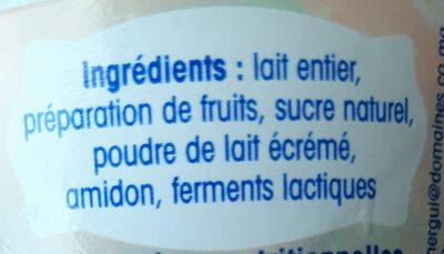 Brassé fraise - Ingredients - fr