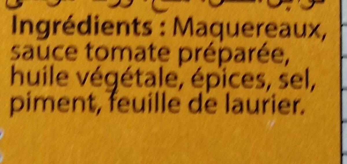 Miettes de Maquereaux - Ingredienti - fr