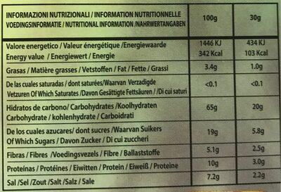 Idéal Soupe Chorba Marocaine 51 G - Nutrition facts - fr