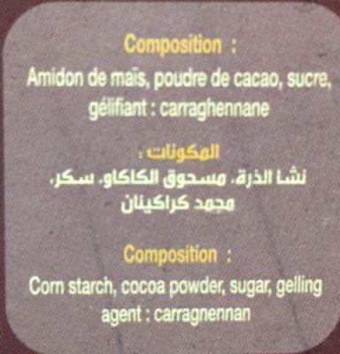Crème pâtissière - Ingredients