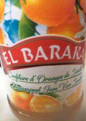 Confiture d'orange EL BARAKA - Product