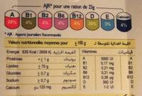 Classique - Voedingswaarden - fr