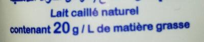 Raib - Ingredients - fr