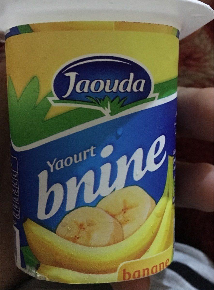 Yaourt Bnine Banane - Product - fr