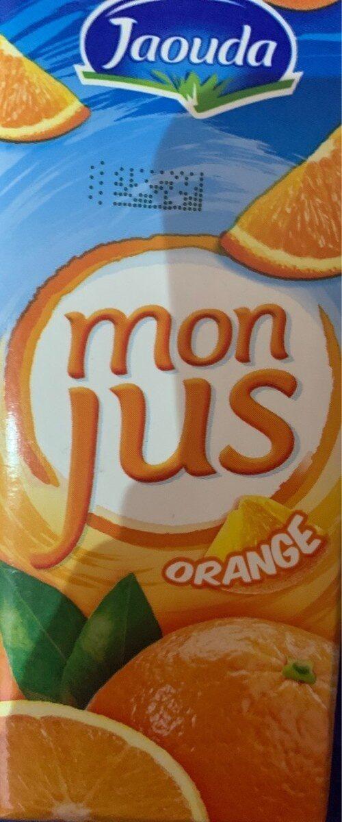 Mon jus orange - Product - fr