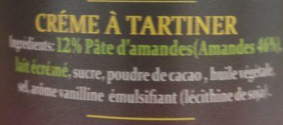 Tchicolata - Ingredients