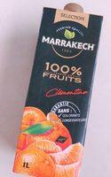 100 % teneur en fruits clémentine - Product