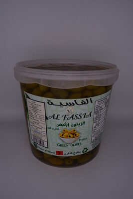 AL FASSIA PITTED GREEN OLIVES - Product
