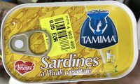 Sardines à l'Huile Végétale - Produit - fr
