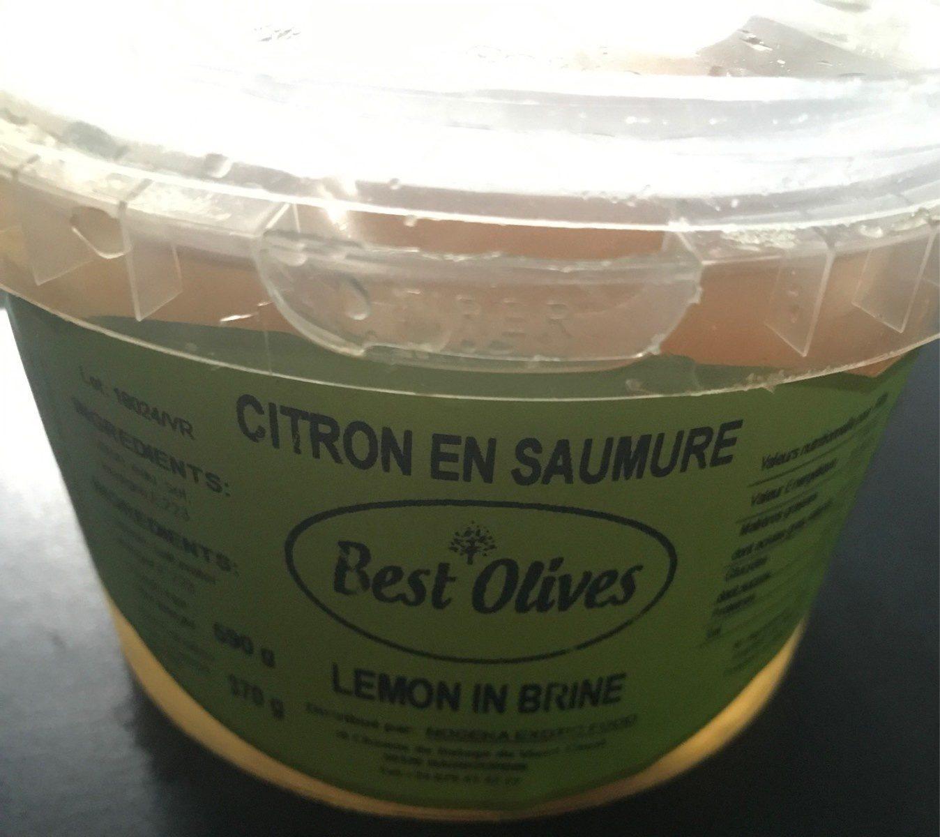 Citron en saumure - Produit - fr