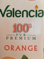 Valencia 100% Orange - Informations nutritionnelles - fr