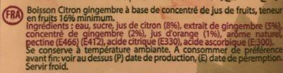 Essentiel tonus - Ingrédients - fr