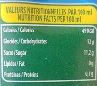 Abtal - Informations nutritionnelles - fr