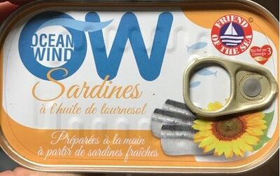 Sardines Huile De Tournesol - Product